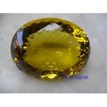 Limón cuarzo tamaño grande piedras preciosas sueltas
