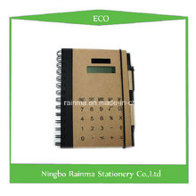 Eco Notebook with Calculator Cover
