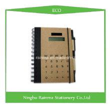 Эко-ноутбук с крышкой для калькулятора