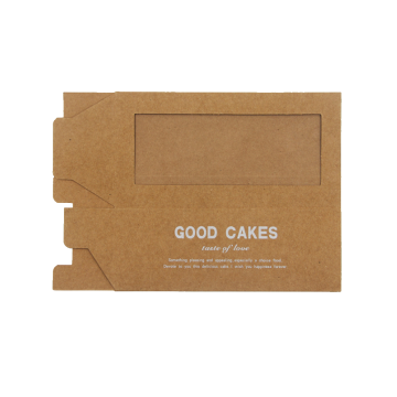 Lade-type Kraft-papier Take-out taartdoos