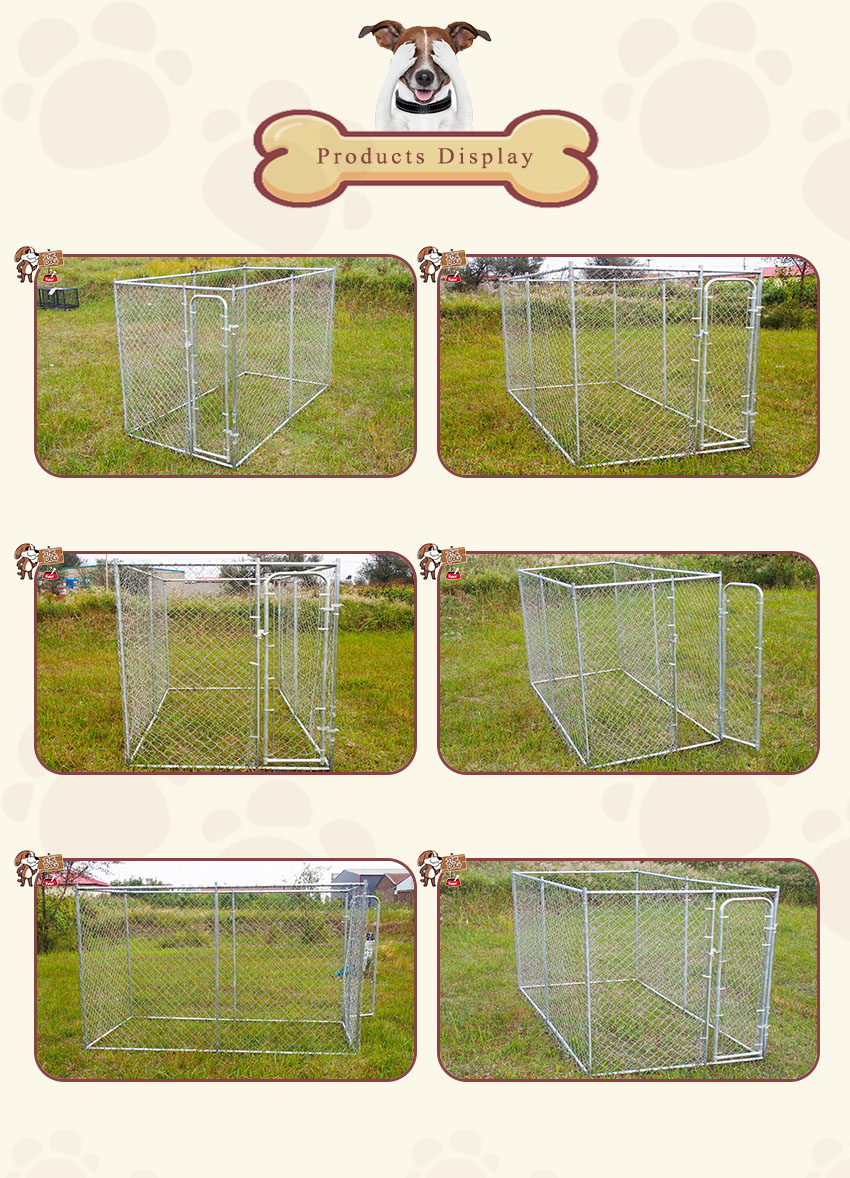 Products Display Chain Ling Dog Kennel