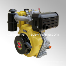 Diesel Engine with Camshaft and Oil Bath Air Filter Yellow Color (HR186FS)