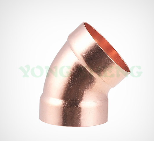 Copper DWV 45 Elbow
