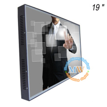 Открытой рамки 19 дюймов TFT ЖК-монитор 12В с сенсорным экраном