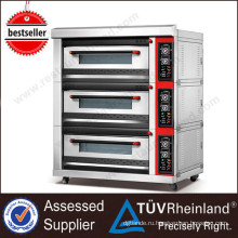 (Утверждение CE) Высококачественный K045 Печи Для Продажи 3 Палубе Хлебопекарная Ротационная Печь