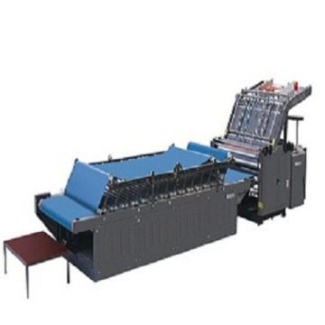 TM semi automatic vacuum flute laminator machine