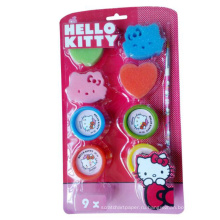 привет Китти милый губка игрушка дети штамп