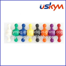 Neodymium Magnetic Push Pin for Sale Whiteboard Magnet