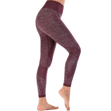 Workout Gym Wear Leggings sin costuras para mujer