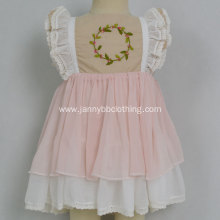 boutique baby girls dress pink WDW remake
