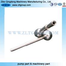 Peças de polimento com material de aço inoxidável de liga