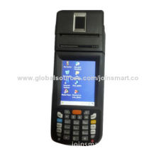 Full Function Handheld PoS Terminal, Supports Fingerprints, Barcode Scanner, RFID, IC Card Reader