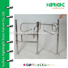 Supermarket Mechanical turnstile barrier swing gate