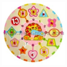 Wooden Clocks Puzzle (81373)