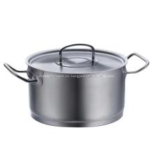 Cazuela de acero inoxidable 304 Cazuela para estofado Cazuela de 3 capas