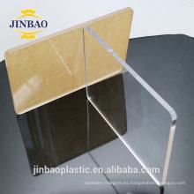 Signo de tienda resistente al calor Jinbao color Pmma 5mm 25mm acrílico