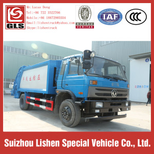 Compressible Garbage Truck 12 cbm Dongfeng 153