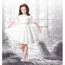 lace flower girl dress design scoop neckline sleeveless sexies girls in hot night dress ED779