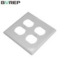 YGC-002 Safety circuit plastic decorator american wall plate