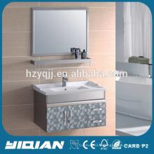Mobilier de maison Meuble de meuble économique en acier inoxydable pour lavabo Meuble à miroir en acier inoxydable à bas prix