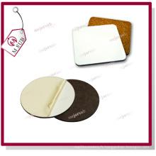 Sublimation 10cm imprimé MDF Cork Coaster bois