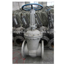 Russia standard carbon steel stem oil gate valve pn25