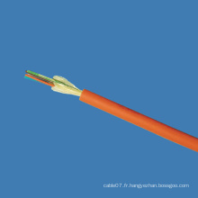 Câble de fibre optique à l'intérieur / câble à fibre optique
