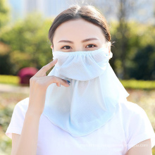Summer Openning Sunscreen Scarf Face Cover Breathable Dust-Proof Neck Scarves