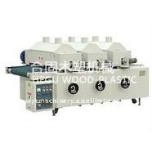 Máquina de escovar de aço de madeira e plástico (tratamento de superfície de perfil de madeira e plástico)