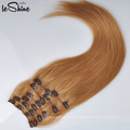 Оптовая двухместный нарисованные 80г-220г девственница Реми зажим для волос расширение