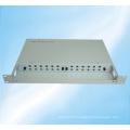 Cadre de distribution à fibre optique fixe à montage en rack 24cores
