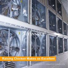 Système de ventilation d'air de Tianrui pour l'équipement de cage de batterie
