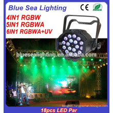 18pcs indoor light 10w RGBW LED Par Light 4in1/5in1/6in1 stage light