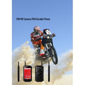13M HD Camera IP68 Durable Phone