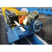 Material Cold Steel Sheet PU obturador puerta rollo que forma la máquina
