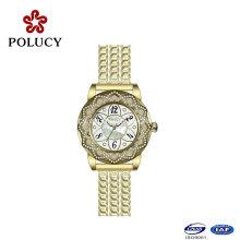 Top 10 marcas de moda reloj de acero inoxidable reloj de cuarzo de acero inoxidable de nueva empresa