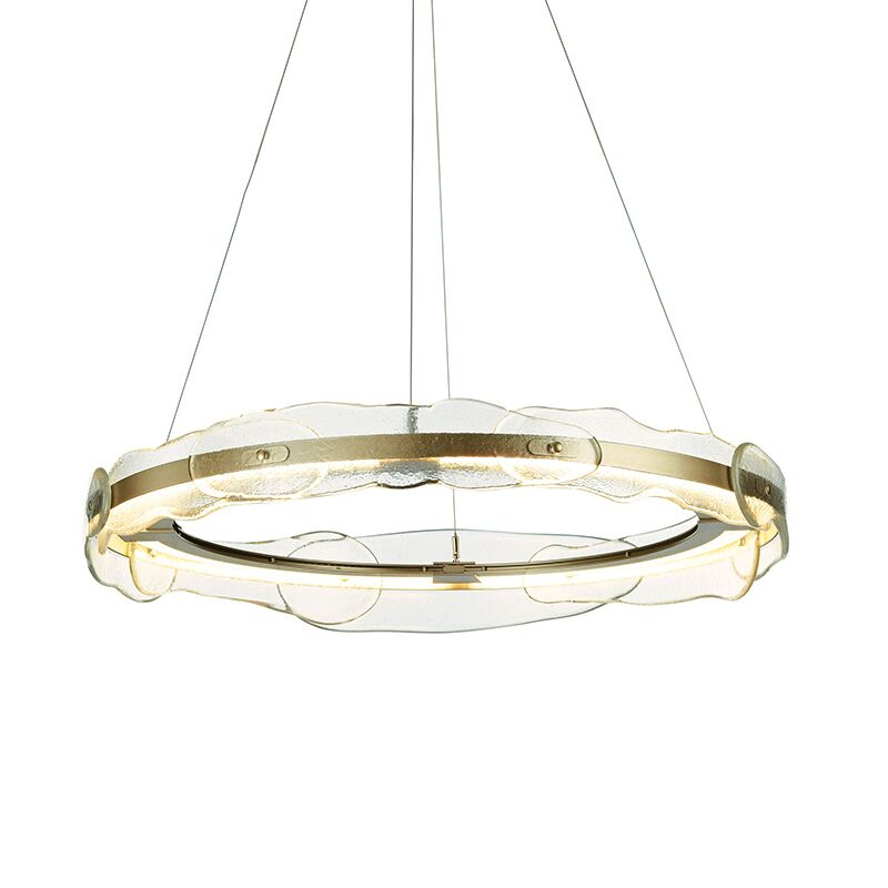 Glass Round Crystal Chandelier