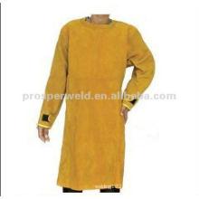 O couro de segurança de soldagem do avental de proteção 1004