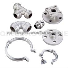 Kundengebundene motorbetriebene Motor-Bestandteile CNC mit dem Polieren