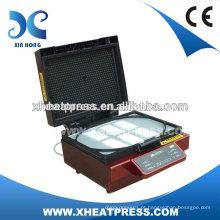 Máquina de pressão térmica a vácuo 3D para a caixa do telefone