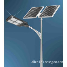 30W7m pole light used in street with solar energy