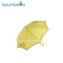 Guarda-chuva infantil com luz na tampa e pontas