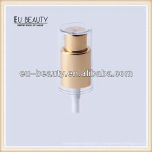Стеклянная косметическая бутылка с кремовым насосом