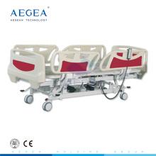 АГ-BY003C более продвинутые регулируемый по высоте пять функций электрическая Больничная койка для сбывания