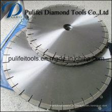 Lâmina de serra de diamante com núcleo silencioso para corte de granito