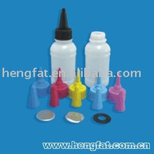 empty Nozzle Ink Bottle 100ml for refilling ink