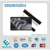 Promotional high quality pvc magnetic stripe card with magstripe 300oe