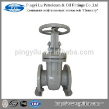 Carbon steel gost rising stem flanged gate valve steam system