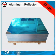 Aluminum reflector sheet metal