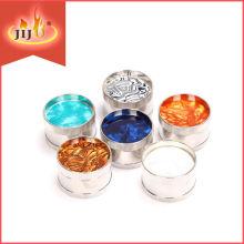 JL-188J Yiwu Jiju Import Export Smoking Accessories Metal Smoking Grinders, Herb & Spice Grinder, Small Spice Grinder Price
